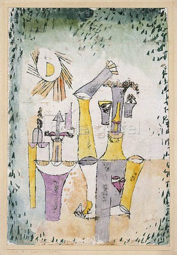 Paul Klee: Schwarzmagier. 1920