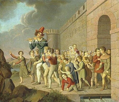 Adam Weise: Der Rattenfänger von Hameln. 1806