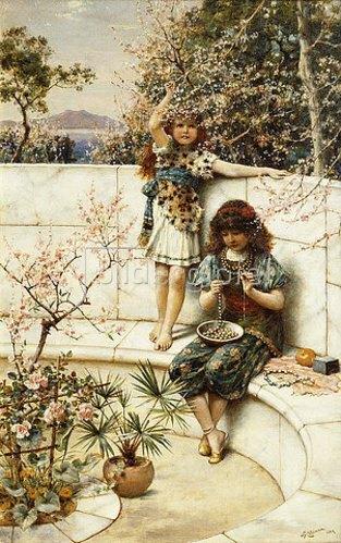 William Stephen Coleman: Die Kette. 1889