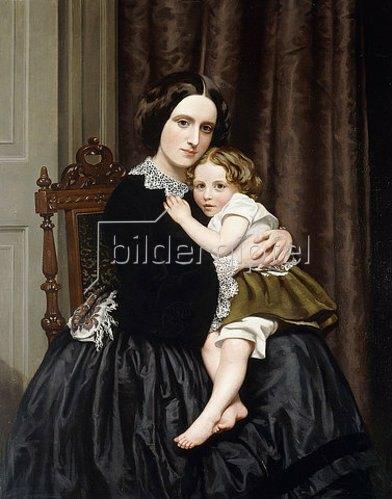 Robert Scott Tait: Mutter und Kind.