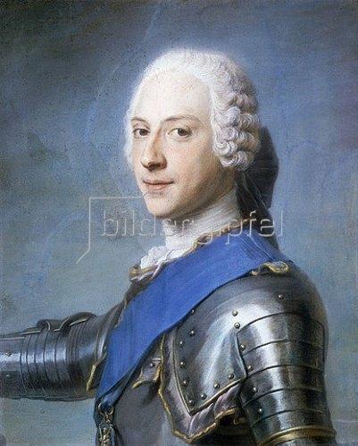 Maurice Quentin de La Tour: Portrait von Prinz Charles Edward Stuart.