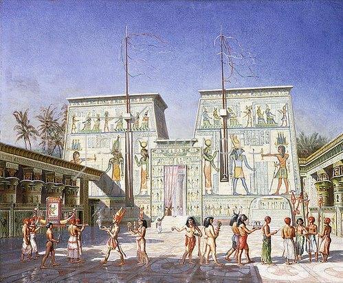 Henry Hardinge-Cunnynghame: Der Tempel von Philae.
