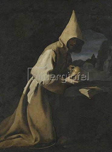 Francisco Zurbaran y Salazar: Der hl. Franziscus von Assisi. 1640