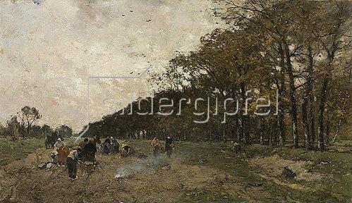 Ludwig Munthe: Die Kartoffelernte. 1896