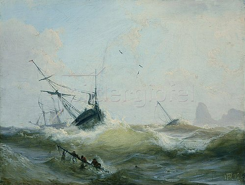 Andreas Achenbach: Marine. 1836