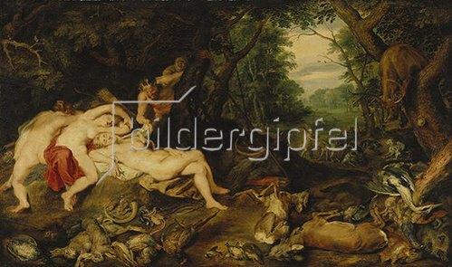 Peter Paul Rubens: Die schlafende Diana. Um 1620