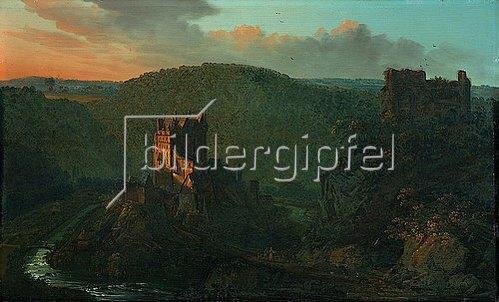 Johann Jakob Diezler: Burg Eltz. 1838