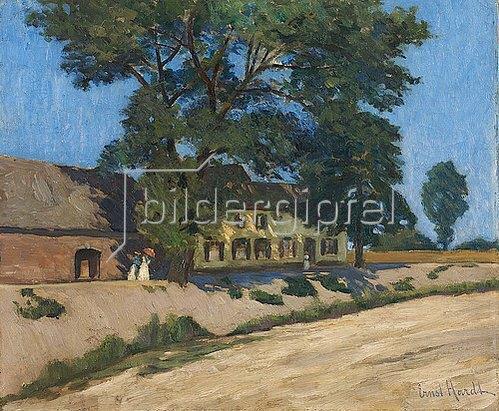 Ernst Hardt: Blauer Tag. Vor 1917