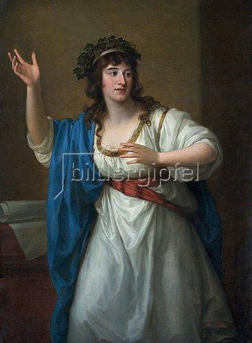 Angelika Kauffmann: Bildnis der Stegreifvirtuosin Teresa Bandettini-Landucci von Lucca. 1794