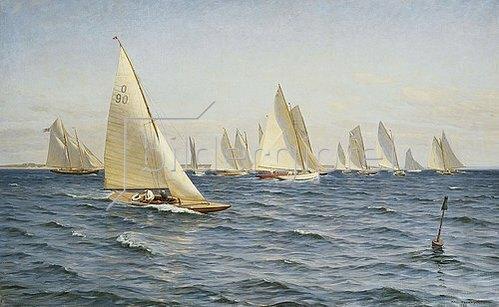 Axel Johansen: Die Regatta. 1921