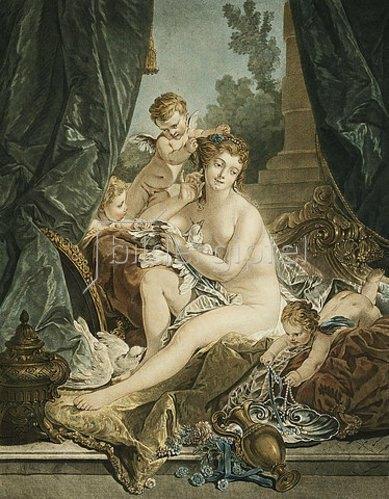 Jean-Francois Janinet: Die Toilette der Venus. 1783