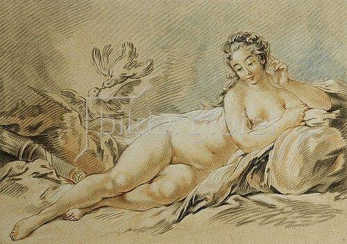 Louis-Marin Bonnet: Die ruhende Venus (Le Repos de Venus). 1774