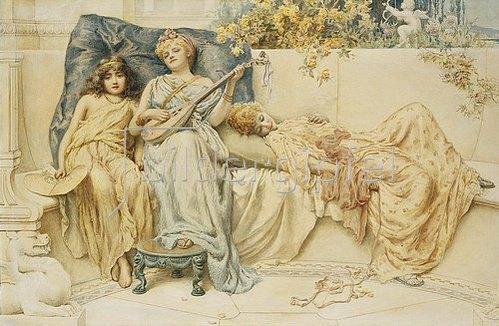 Norman Prescott-Davies: Ein Schlaflied. 1894