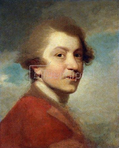 Sir Joshua Reynolds: Selbstbildnis in der roten Jacke eines Doktor der Rechtswissenschaften (unvollendet).