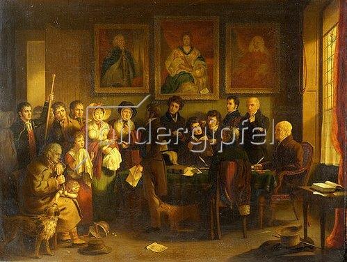 Edward Villiers Rippingille: Die Vaterschaftsklage.