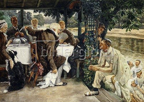 James Jacques Tissot: Die Rückkehr des verlorenen Sohns. Um 1881