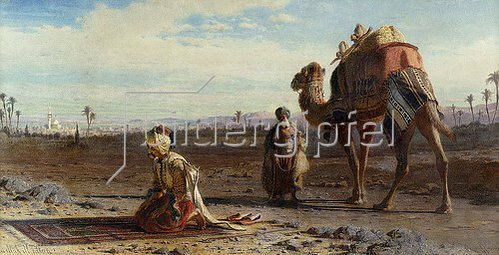 Carl Haag: La Ilaha ill Allah. 1875