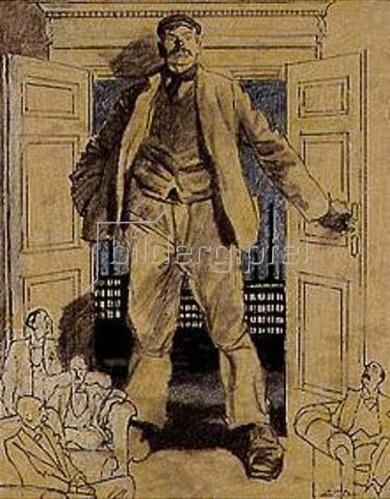 Eduard Thöny: Die englischen Wahlen (Arbeit und Kapital). Blatt für den Simplizissimus.