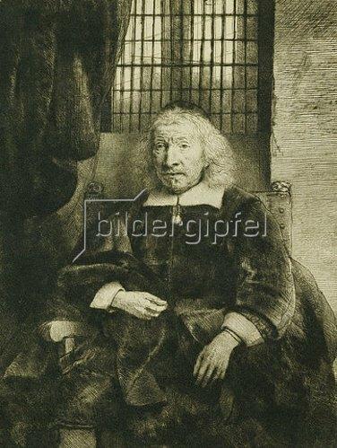 Rembrandt van Rijn: Thomas Haaringh ('Der alte Haaringh'). Um 1655