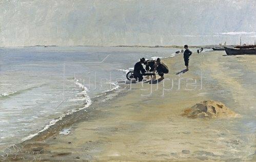 Peter Severin Kroyer: Südstrand bei Skagen. 1884