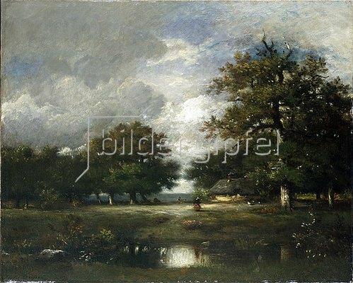 Jules Dupré: Der Teich. 1868