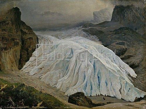 Georg Heinrich Crola: Der Rosenlaui-Gletscher. 1853