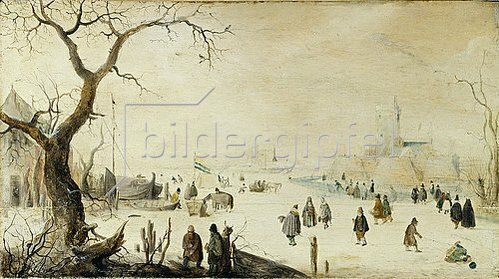 Hendrick Avercamp: Winterlandschaft.