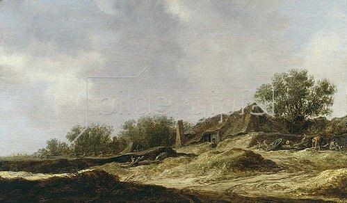 Jan van Goyen: Landschaft mit Bauernhaus. 1632