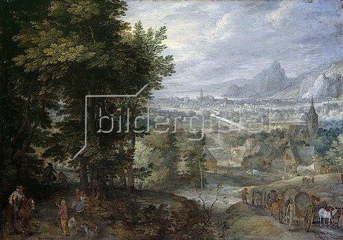 Jan Brueghel d.Ä.: Bewaldete Landschaft. 1603