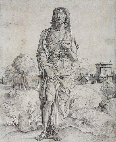 Giulio Campagnola: Johannes der Täufer. Um 1505