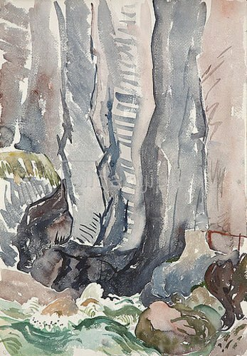 Walter Ophey: Partnachklamm. 1929