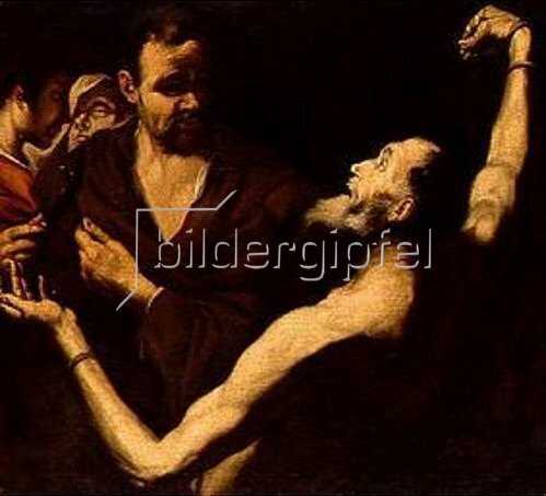 Jusepe de Ribera: Martyrium des hl. Bartholomäus.