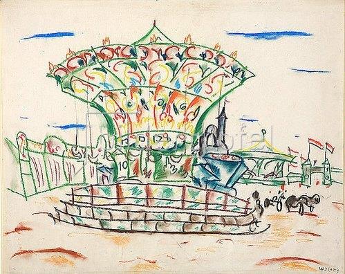 Walter Ophey: Geschlossenes Karussell. 1926