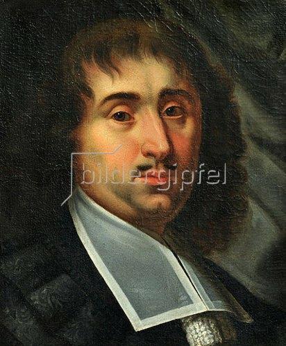 Unbekannter Künstler: Paul Fleming (1609-1640). Ca. 1640