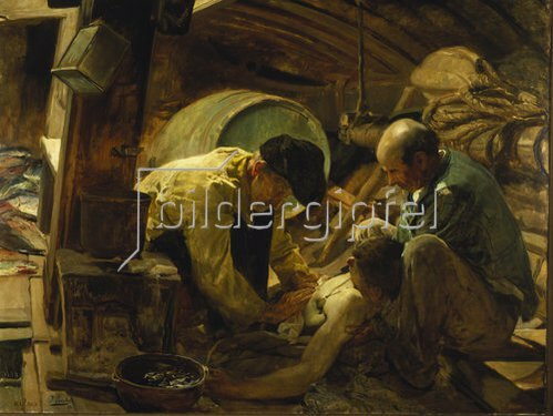 Joaquin Sorolla: Unfall eines Fischers. 1894