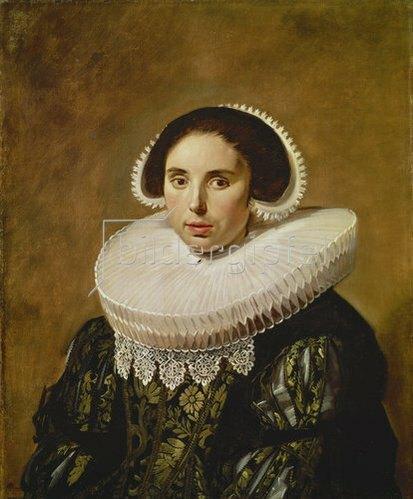 Frans Hals: Sarah Wolphaerts van Diemen. Um 1634.