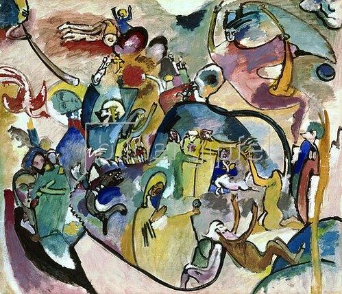 Wassily Kandinsky: Allerheiligenbild II., 1911.