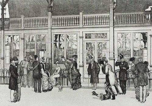 Max Klinger: Ein Handschuh - Ort. 1882
