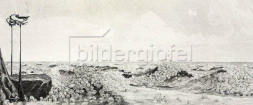 Max Klinger: Ein Handschuh - Huldigung. 1882