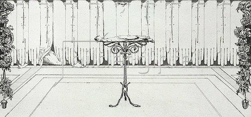 Max Klinger: Ein Handschuh - Ruhe. 1882