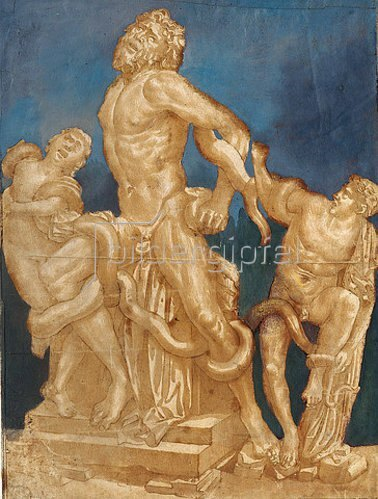 Giovanni Antonio da Brescia: Laokoon. 1506