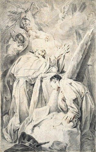 Federico Bencovich: Die Vision des seligen Pietro Gambarcorti. Um 1725/28