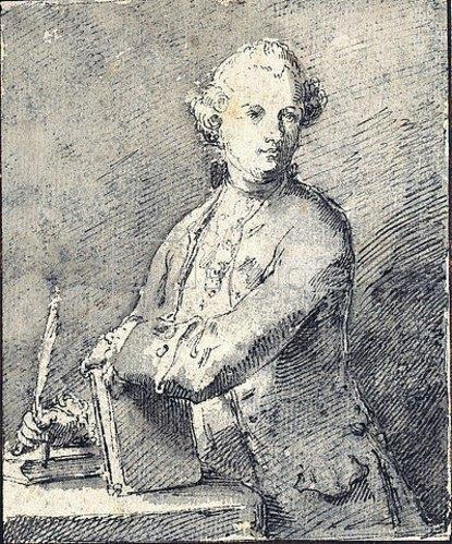 Pietro Antonio Novelli: Bildnis eines Mannes.