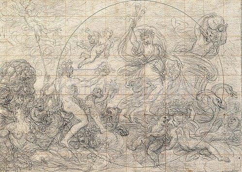 Giovanni Paolo Melchiori: Ceres und Bacchus als Sommer und Herbst.