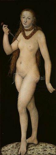 Lucas Cranach d.Ä.: Selbstmord der Lucretia.