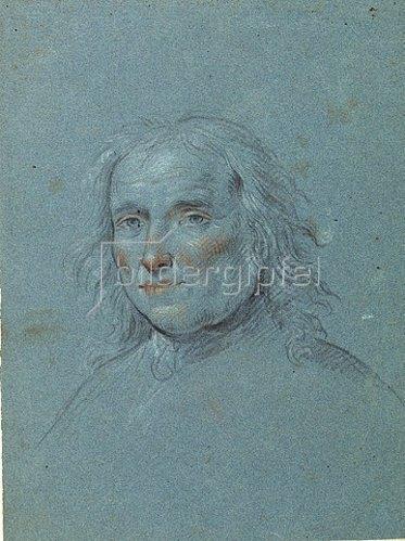 Lambert Krahe: Selbstbildnis. Um 1765