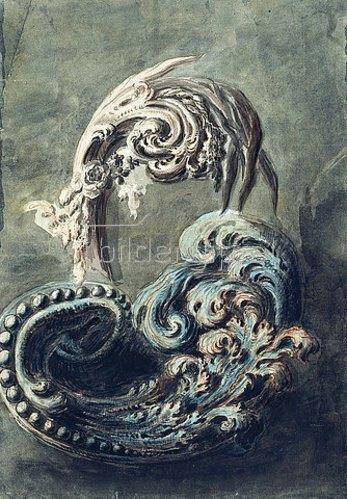 Francois Cuvilliés: Rankenornament. Um 1768/69