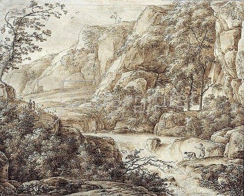 Franz Kobell: Gebirgslandschaft.