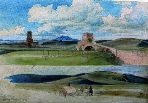 Johann Christoph Erhard: Die Ponte Salario. 1820