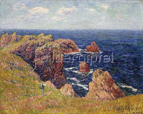 Henri Moret: Die bretonische Küste. Um 1895